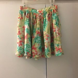 American Eagle summer mini skirt